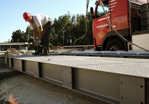 basculas puente para camiones