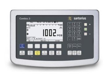 Visor de peso Combics de Sartorius