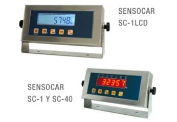 Visor de peso Sensocar
