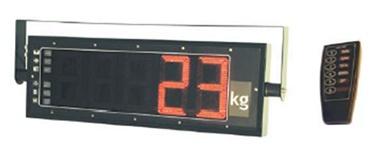 Visor de peso LED
