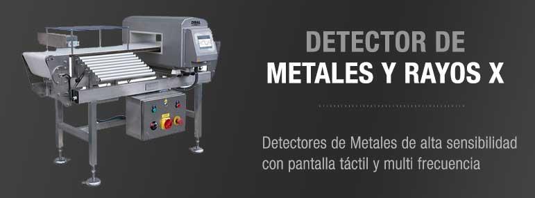 """Detector de Metales """"IFS, International Featured Standards"""""""